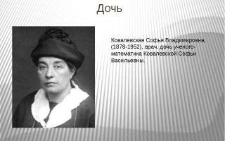 Ковалевская софья — доклад сообщение