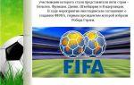 Доклад на тему футбол (сообщение по физкультуре)