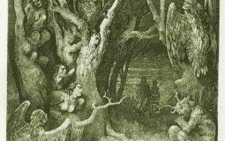 Божественная комедия — краткое содержание поэмы данте по частям
