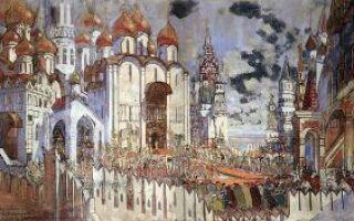 Борис годунов — краткое содержание оперы мусоргского