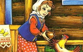 Петушок и бобовое зернышко — краткое содержание сказки