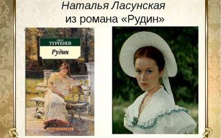 Анализ романа рудин тургенева