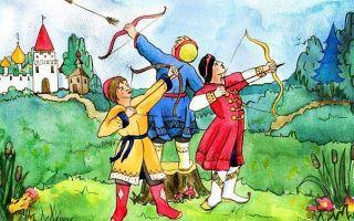Сказка царевна-лягушка — краткое содержание