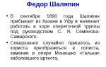 Федор шаляпин — сообщение доклад по музыке 6 класс