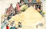 Сладкая каша — краткое содержание сказки братья гримм