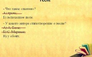 Анализ стихотворения блока на лугу 2, 5 класс