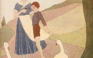 Путешествие нильса с дикими гусями — краткое содержание повести лагерлёфа