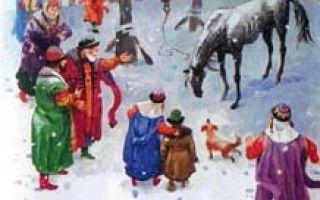 Слепая лошадь — краткое содержание сказки ушинского