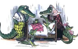 Крокодил — краткое содержание сказки чуковского