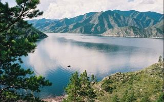 Река енисей — доклад сообщение