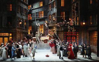 Богема — краткое содержание оперы пуччини