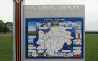 Памятник победы — звонница на прохоровском поле — сообщение доклад