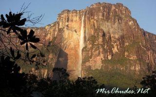 Водопад анхель — доклад сообщение