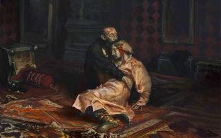 Почему иван грозный убил своего сына?