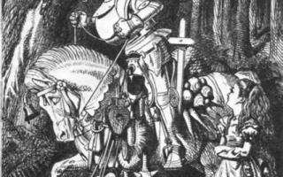 Алиса в зазеркалье — краткое содержание книги кэрролла