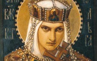 Княгиня ольга — сообщение доклад
