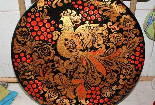 Доклад на тему Хохлома - Деревянное золото сообщение