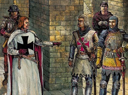Рыцари - сообщение доклад про рыцарей Средневековья