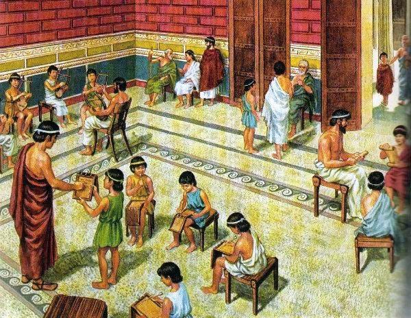 Древняя Греция - сообщение доклад