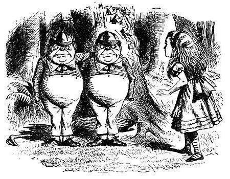 Алиса в Зазеркалье - краткое содержание книги Кэрролла