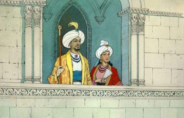 Калиф аист - краткое содержание сказки Гауфа