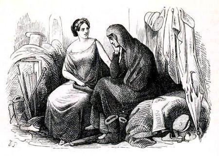 Калоши счастья - краткое содержание сказки Андерсена