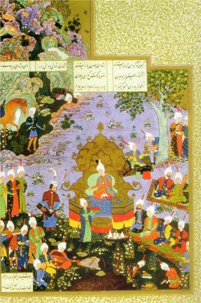 Фирдоуси - краткое содержание эпос Шахнаме