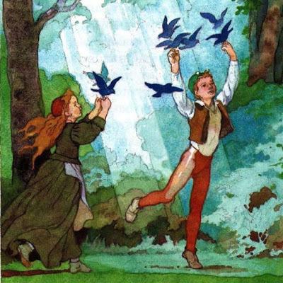 Синяя птица - краткое содержание пьесы Метерлинка