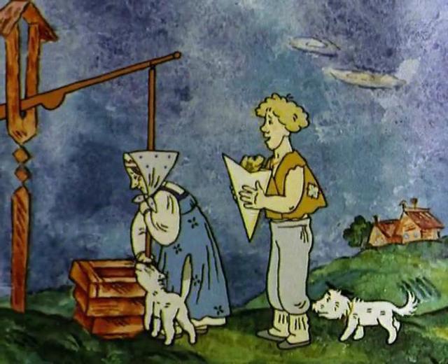 Волшебное кольцо - краткое содержание сказки Шергина