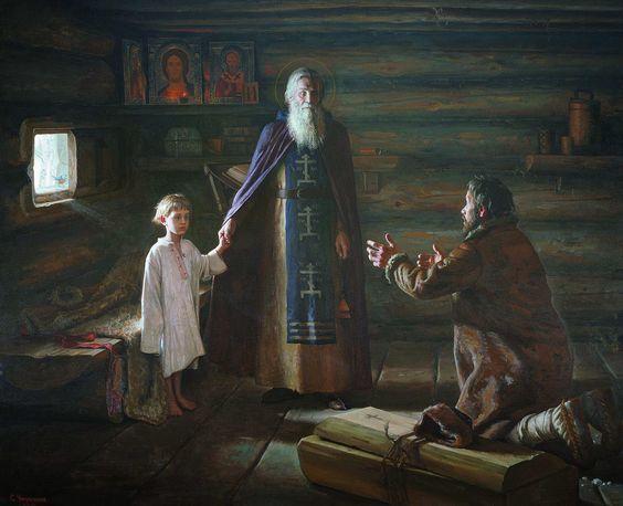 Житие Сергия Радонежского - краткое содержание