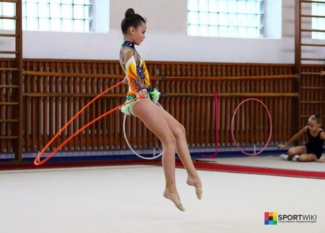 Художественная гимнастика - доклад сообщение