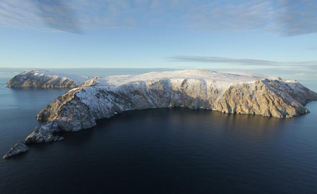 Остров Врангеля - доклад сообщение