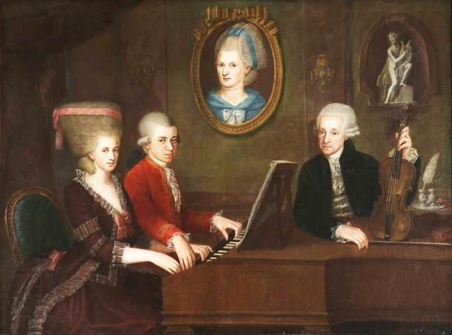 Доклад на тему Моцарт сообщение