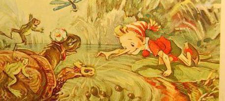 Золотой ключик, или Приключения Буратино - краткое содержание сказки Толстого А. Н.
