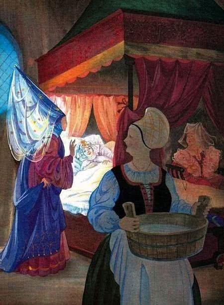 Рике с хохолком - краткое содержание сказки Перро