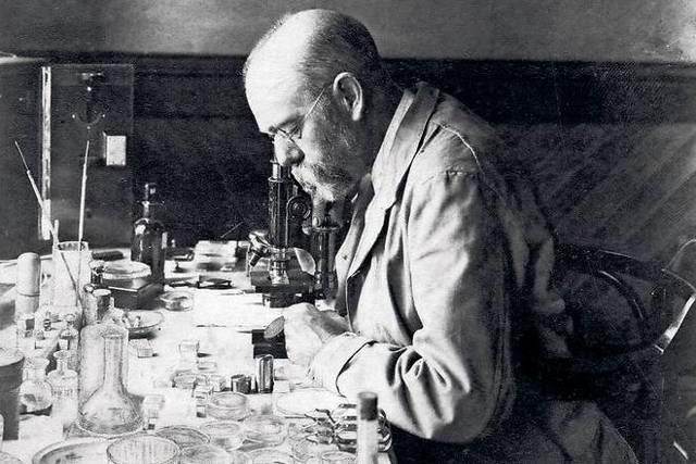 Роберт Кох вклад в биологию и в науку