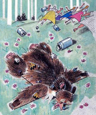 Краткое содержание Паустовский Дремучий медведь