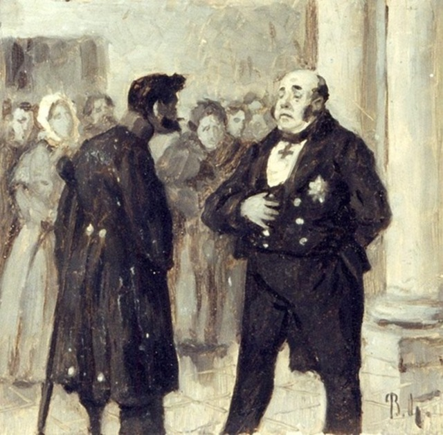 Повесть о капитане Копейкине - краткое содержание (10 глава Мертвых душ)