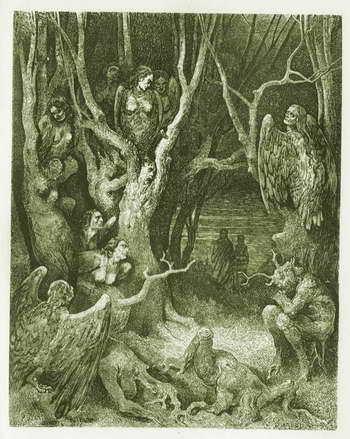 Божественная комедия - краткое содержание поэмы Данте по частям