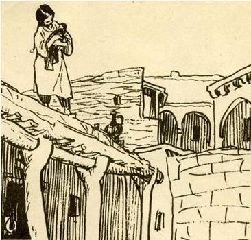 Кавказский пленник - краткое содержание рассказа Саши Чёрного