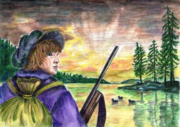 Васюткино озеро - краткое содержание рассказа Астафьева
