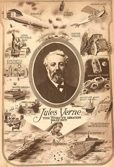 Жизнь и творчество Жюля Верна