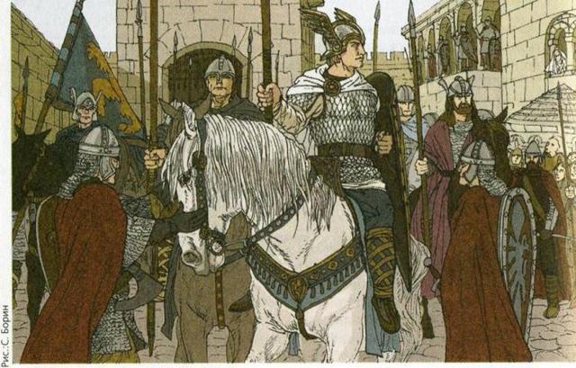 Песнь о Нибелунгах - краткое содержание