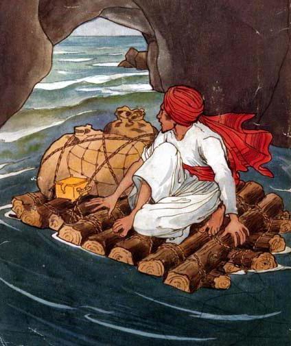 Путешествия Синдбада-морехода - краткое содержание сказки