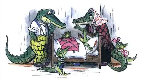 Крокодил - краткое содержание сказки Чуковского