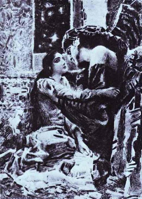 Демон - краткое содержание поэмы Лермонтова