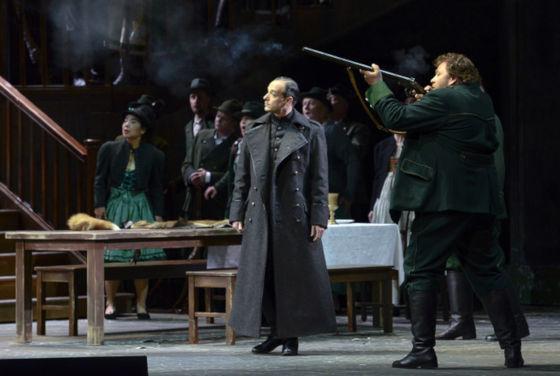 Вольный стрелок - краткое содержание оперы Вебера