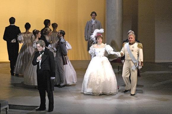 Опера Евгений Онегин - краткое содержание произведения Чайковского