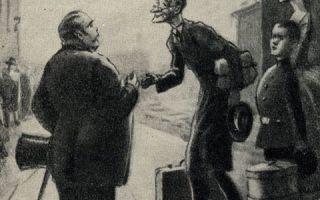 Толстый и тонкий - краткое содержание рассказа Чехова