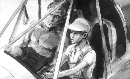 Последний дюйм (Отец и сын) - краткое содержание романа Олдридж